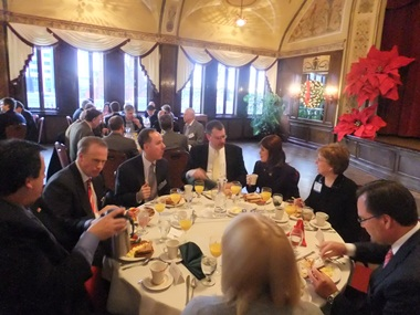 IBAW Breakfast in the Wisconsin Club Ballroom